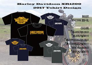 ハーレーダビッドソン XR1200 Tシャツ