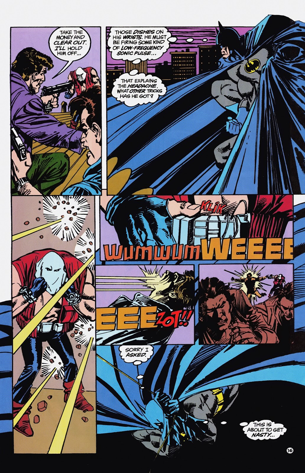Read online Detective Comics (1937) comic -  Issue # _TPB Batman - Blind Justice (Part 1) - 21