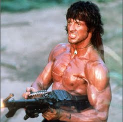 The Rock Body Weight Training: Sylvester Stallone, Rambo