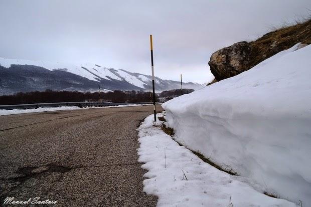 Nei pressi di Passo San Leonardo