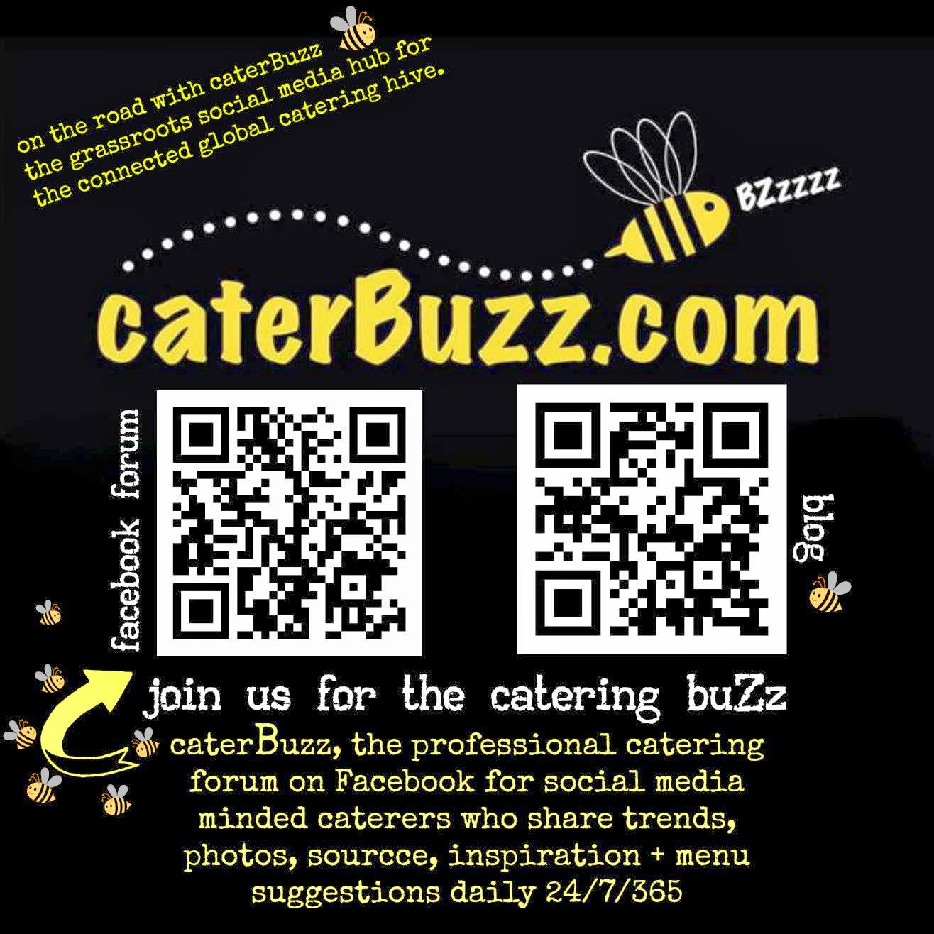 on the road with caterBuzz  - the grassroots social media hub for catering professionals