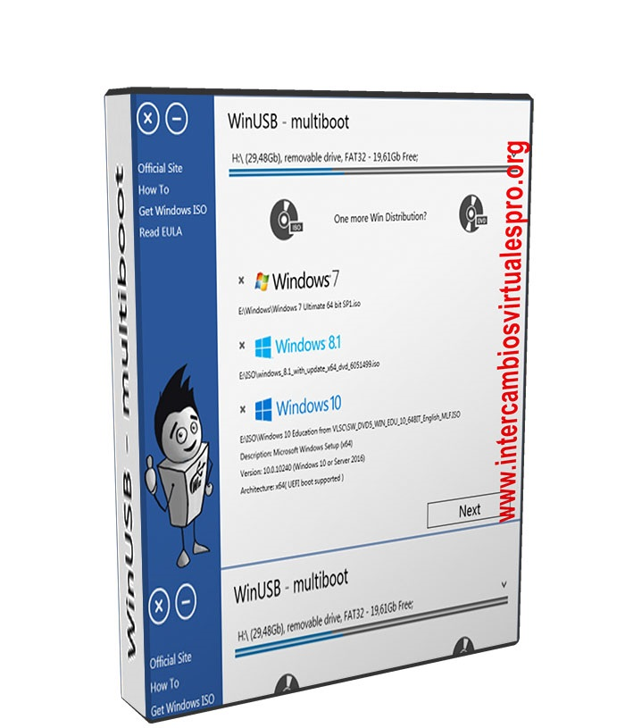 WinUSB v3.3.0.1 poster box cover