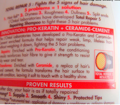 Cons of L'Oreal Paris Total Repair 5 Repairing Shampoo