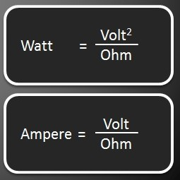 Cara Menghitung watt Pada Vapor