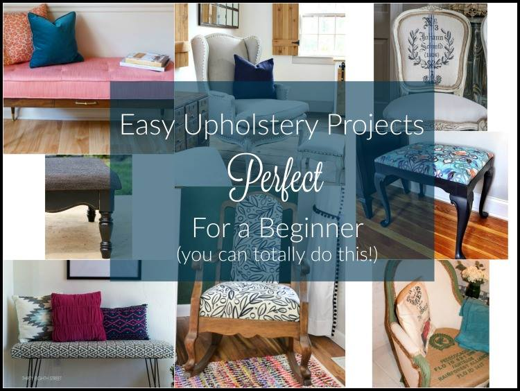 painting upholstery, reupholstering, refinishing furniture, stencil upholstery, reupholster chairs, reupholstered bench,