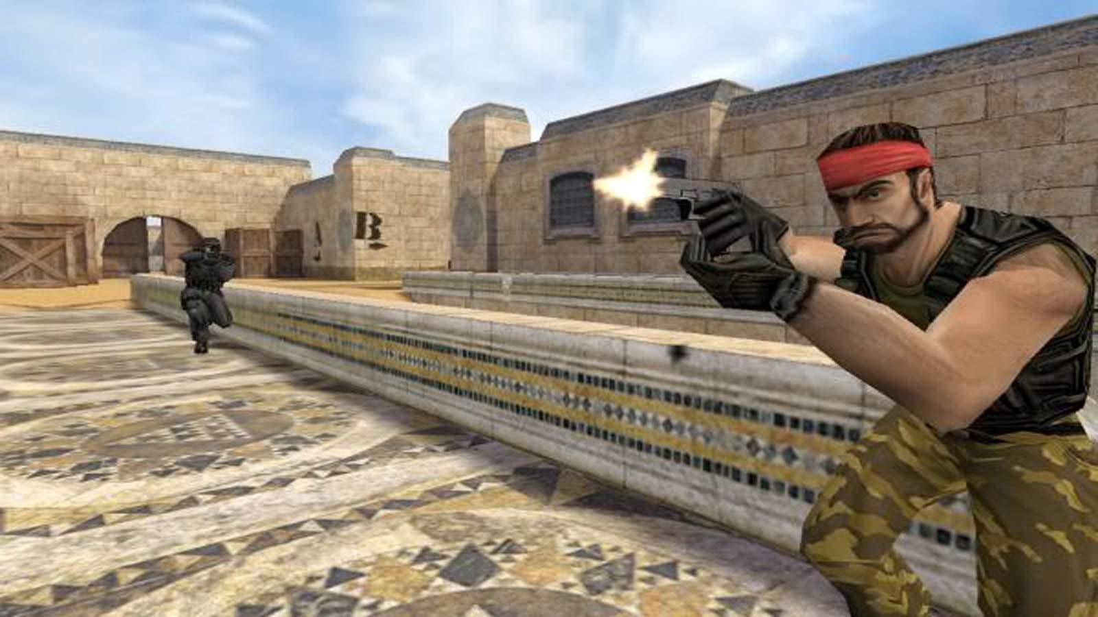 تحميل لعبة Counter Strike المطورة مضغوطة برابط واحد مباشر كاملة مجانا