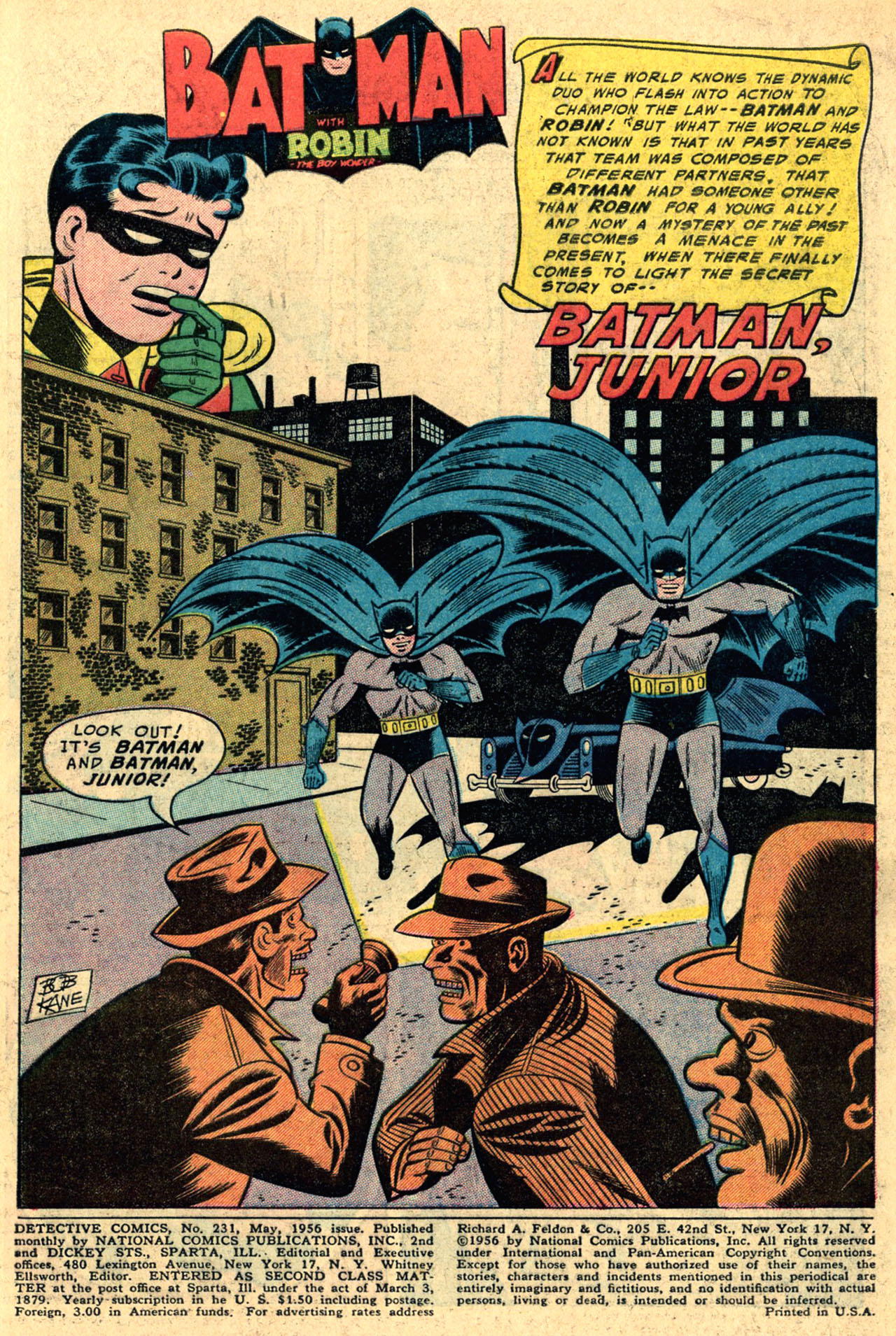Detective Comics (1937) 231 Page 2