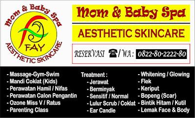 FAY: Mom and Baby Spa Bandar Lampung Suguhkan Diskon