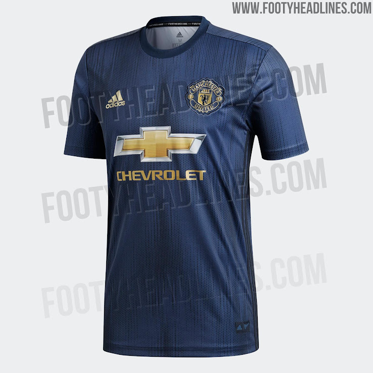 finest selection 80905 d2556 Manchester United 18-19 Third Kit Released - Footy Headlines