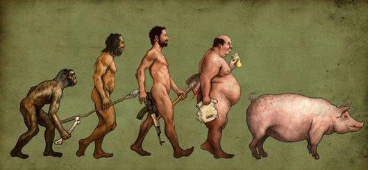 Homens e porcos
