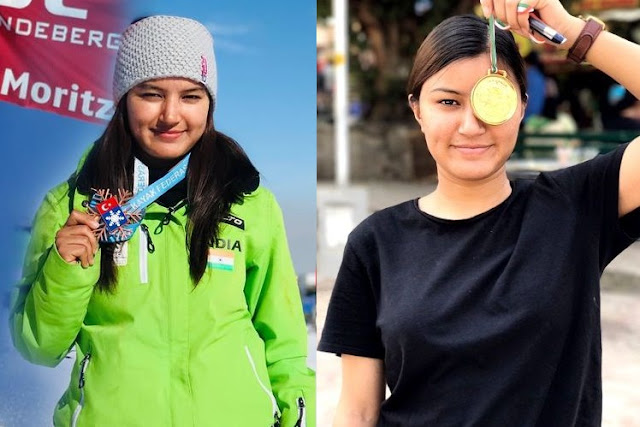 Aanchal Thakur wins India's First International Medal in Skiing