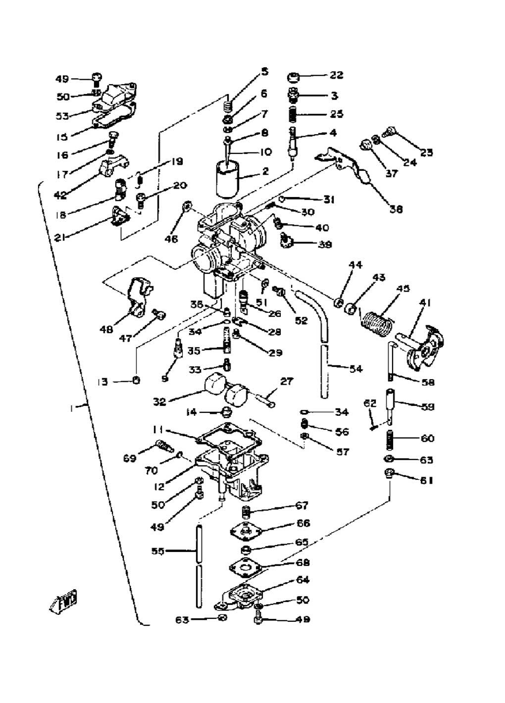 yamaha xt200 wiring diagram 1981 yamaha xt250 carburetor diagram yamaha old bikes list  1981 yamaha xt250 carburetor diagram