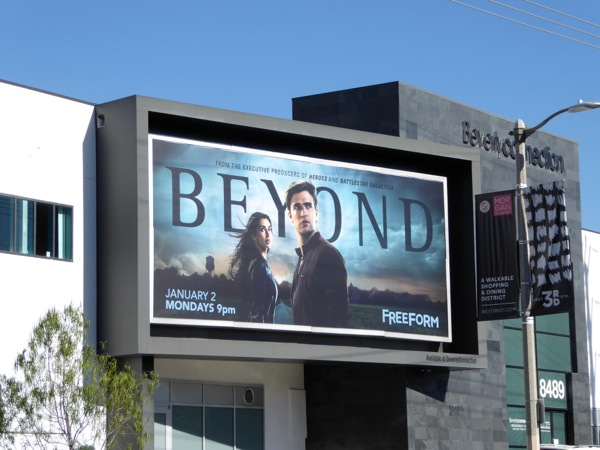 Beyond Freeform series billboard