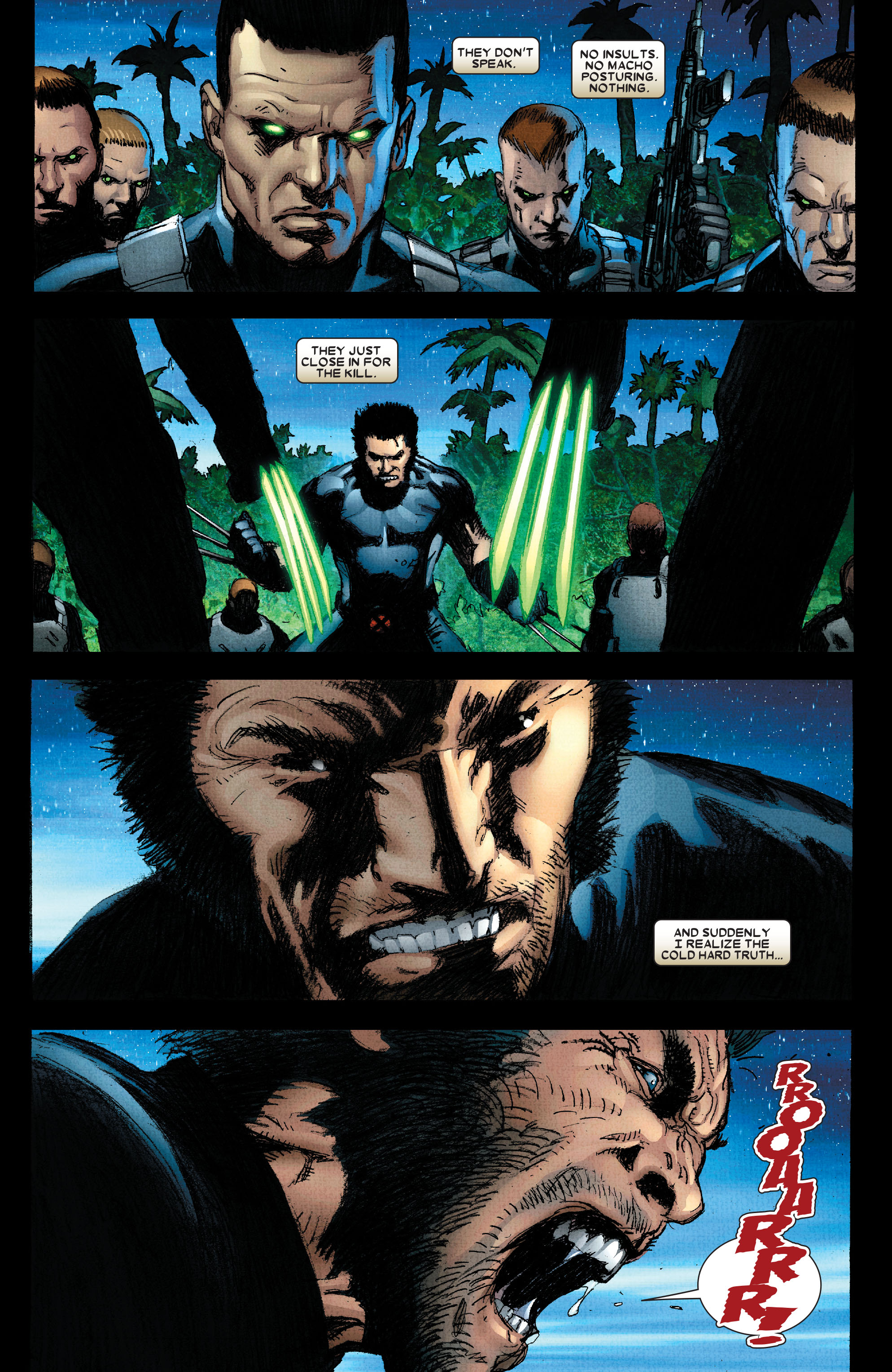 Read online Wolverine: Weapon X comic -  Issue #2 - 22