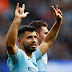 #PremierLeague   Con el aporte de Agüero, Manchester City goleó y sigue arriba