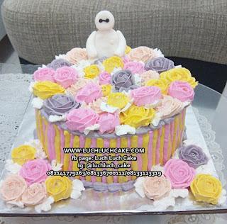 Kue Tart Baymax Untuk Cewek
