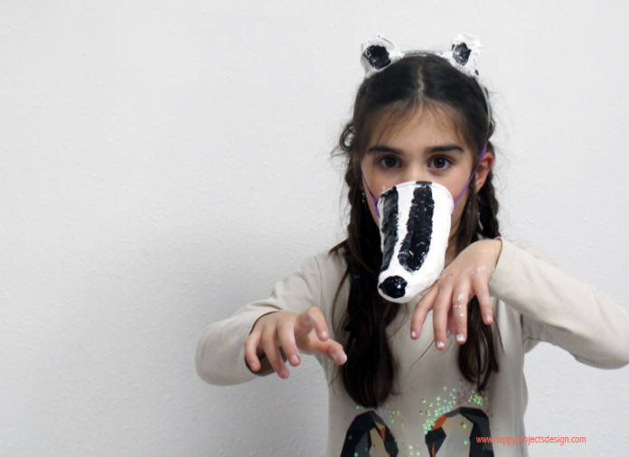 DIY disfraz animales del bosque