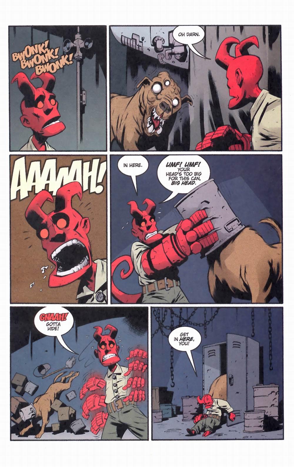 Read online Hellboy: Weird Tales comic -  Issue #2 - 27