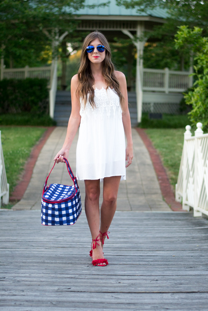 July 4th Outfit Inspiration by Charleston fashion blogger Kelsey of Chasing Cinderella