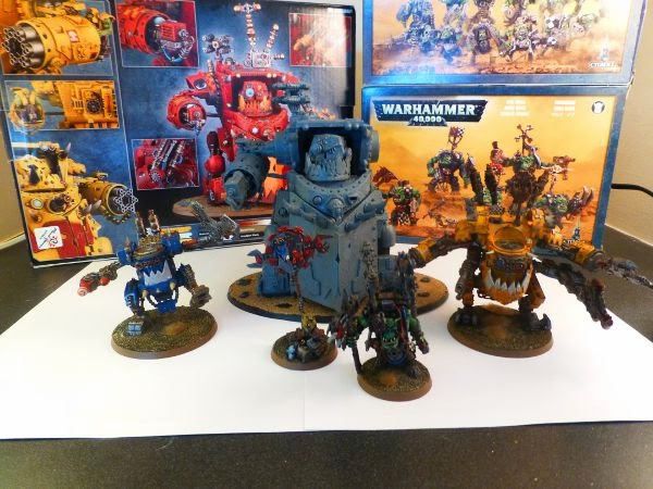 40k orks a mek and his toys 1