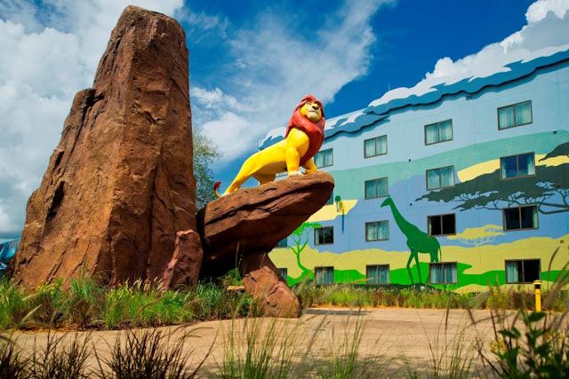Estructura de los hoteles dentro de Disney en Orlando