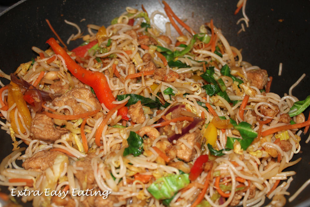 Extra Easy Eating Chicken Prawn Stir Fry