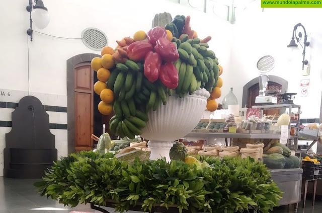 El mercado municipal abrirá mañana sus puertas con decoración por el Día de Canarias