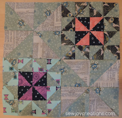 august my secret garden block