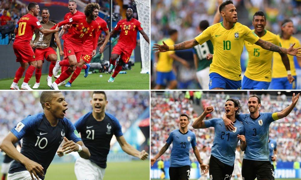 Mondiali Calcio 2018 Streaming: Uruguay-Francia e Brasile-Belgio (No Rojadirecta), Diretta TV su Canale 5 oggi 6° luglio.