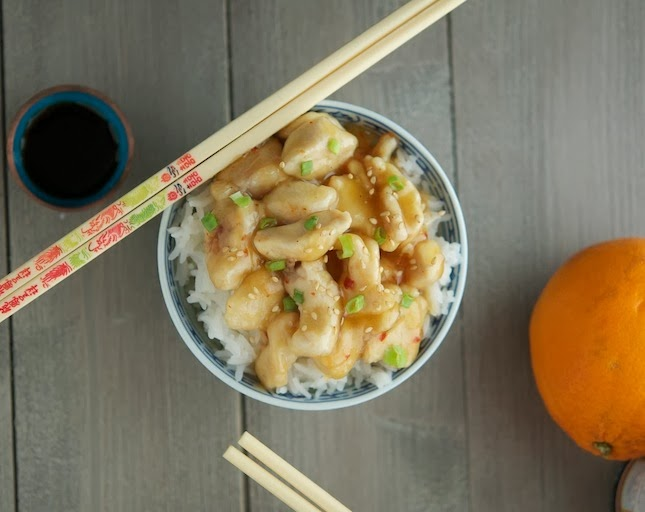 15-Minute Chinese Orange Chicken