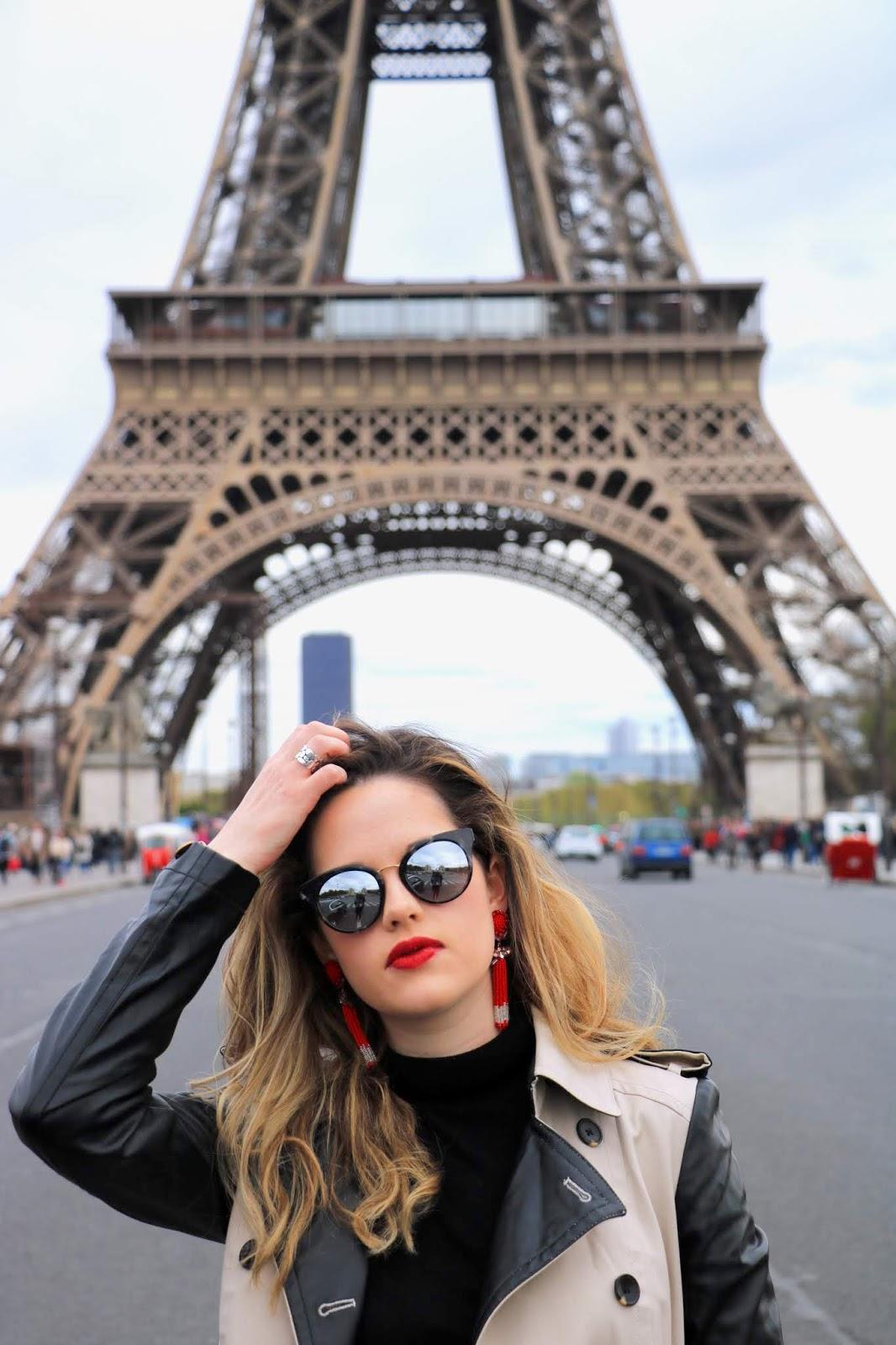 Eiffel Tower photo shoot locations