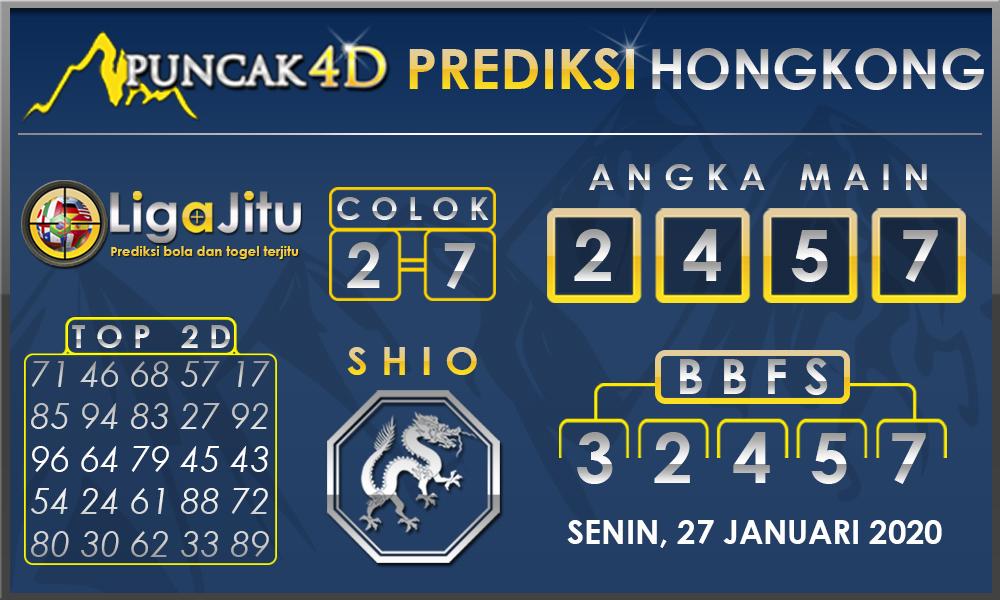 PREDIKSI TOGEL HONGKONG PUNCAK4D 27 JANUARI 2020