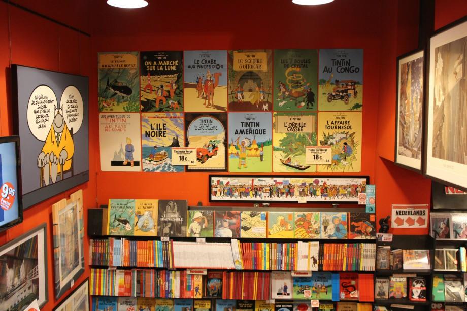 libreria, bruselas, comic