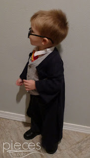 Pieces by Polly: Super Fast and Easy DIY Harry Potter Robe from a ...