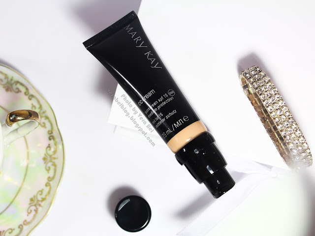CC-cream SPF 15 ot Mary Kay v ottenke Umerenno-svetlyiy (Light-to-Medium), обзор, отзыв, review