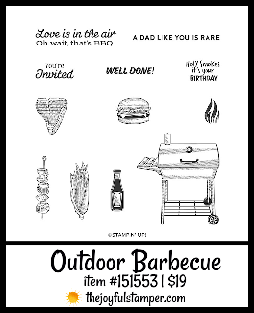 Outdoor Barbecue | item #15153 | $19 | Nicole Steele The Joyful Stamper