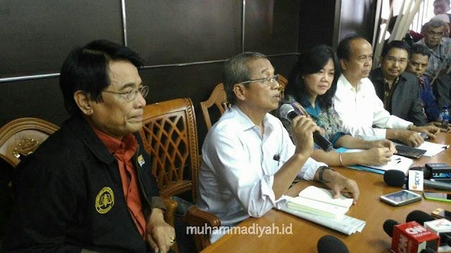 Hasil Keputusan Outopsi Suyono di kantor KOMNAS HAM Muhammadiyah