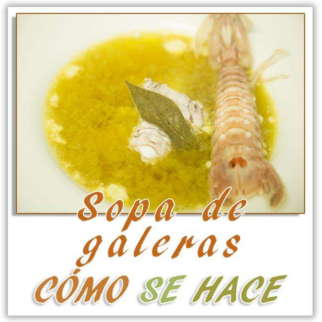SOPA CASERA DE GALERAS