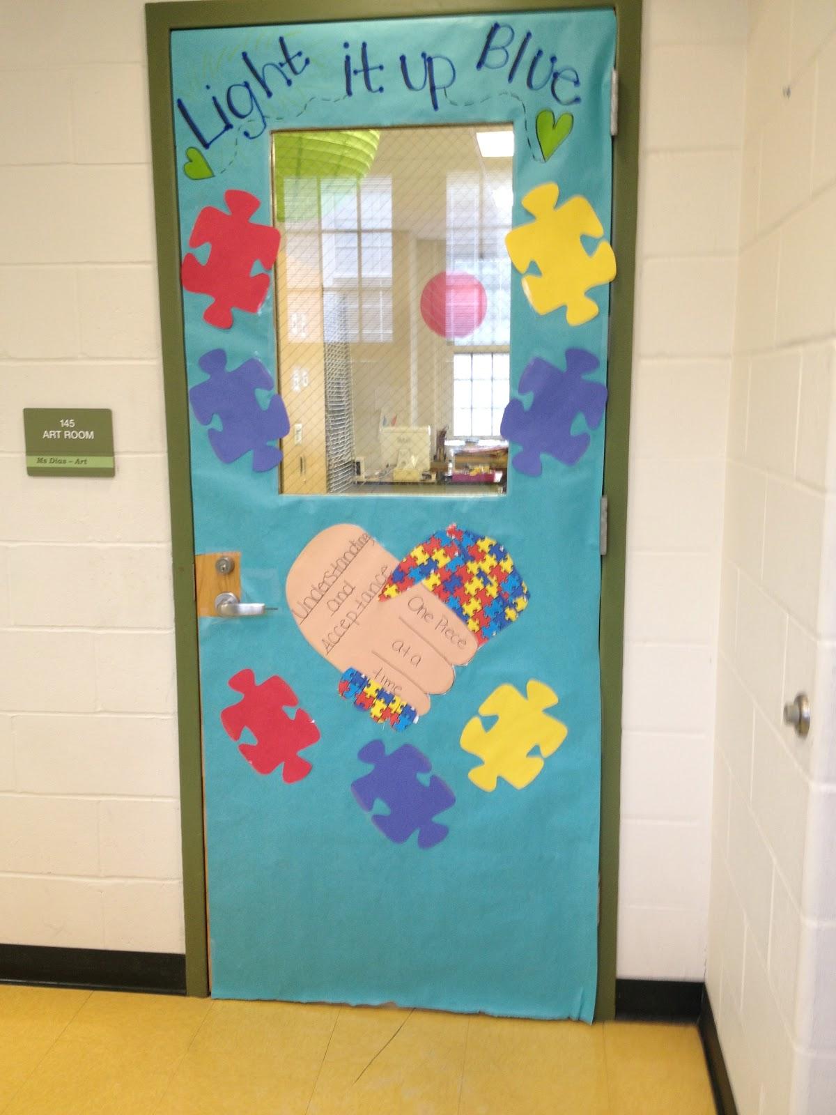 Doors Autism & Door Decorating