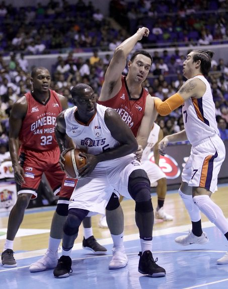 Ginebra vs Meralco PBA Finals Governors' Cup 2017