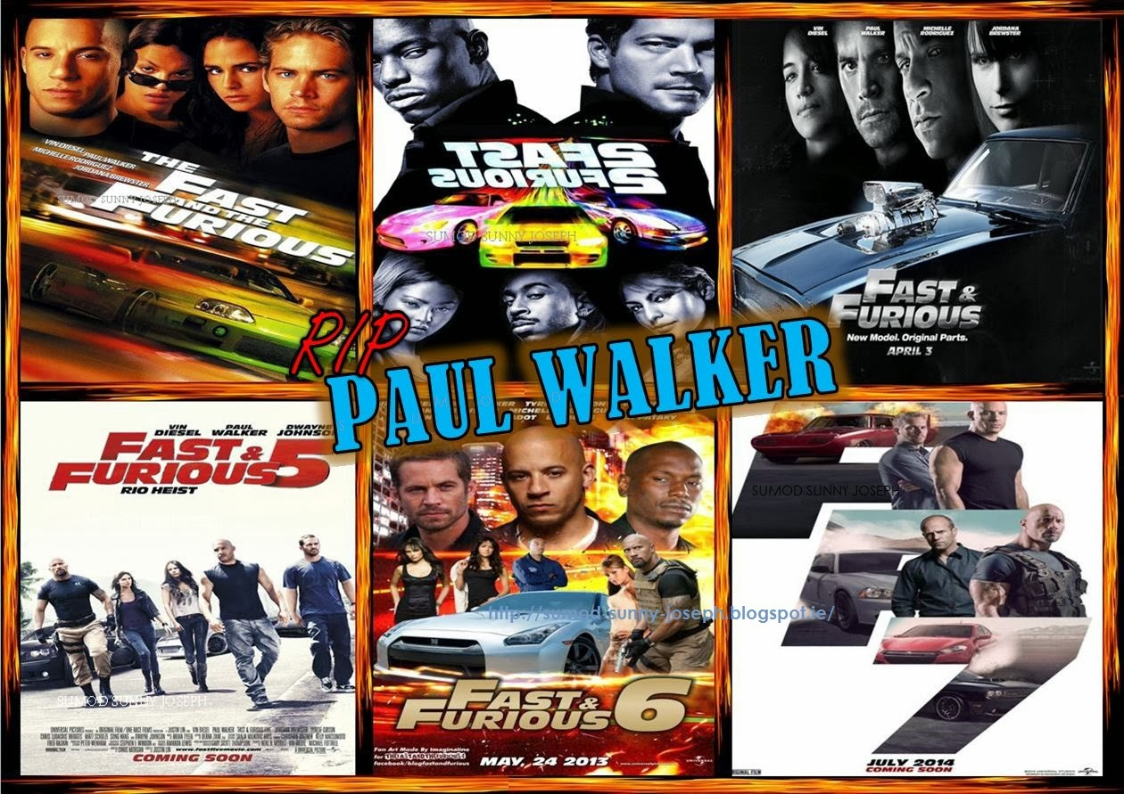 Rip Paul Walker Top Best Fast And The Furious Film: HAPPINESS: Paul Walker Star Of Fast & Furious Movie Series