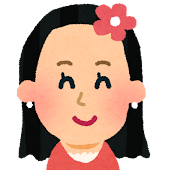 女性の顔アイコン 3