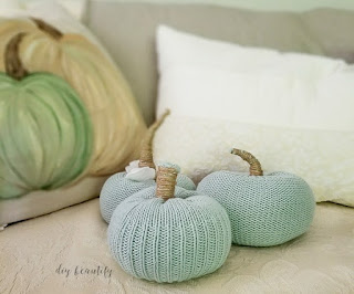 sweater sleeve pumpkins | diy beautify