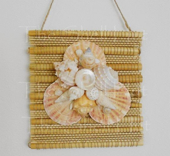 Seashell Craft Wall Hanging Decoration Ideas