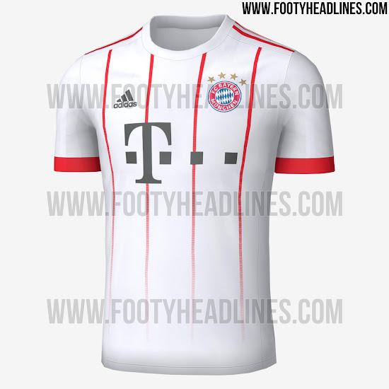 buy online de5aa bd81b FIFA 14 MODS: FC Bayern Munich 17/18 Full Kit