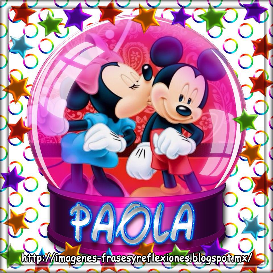Imágenes Frases Y Reflexiones Minnie Y Mickey Mouse Con