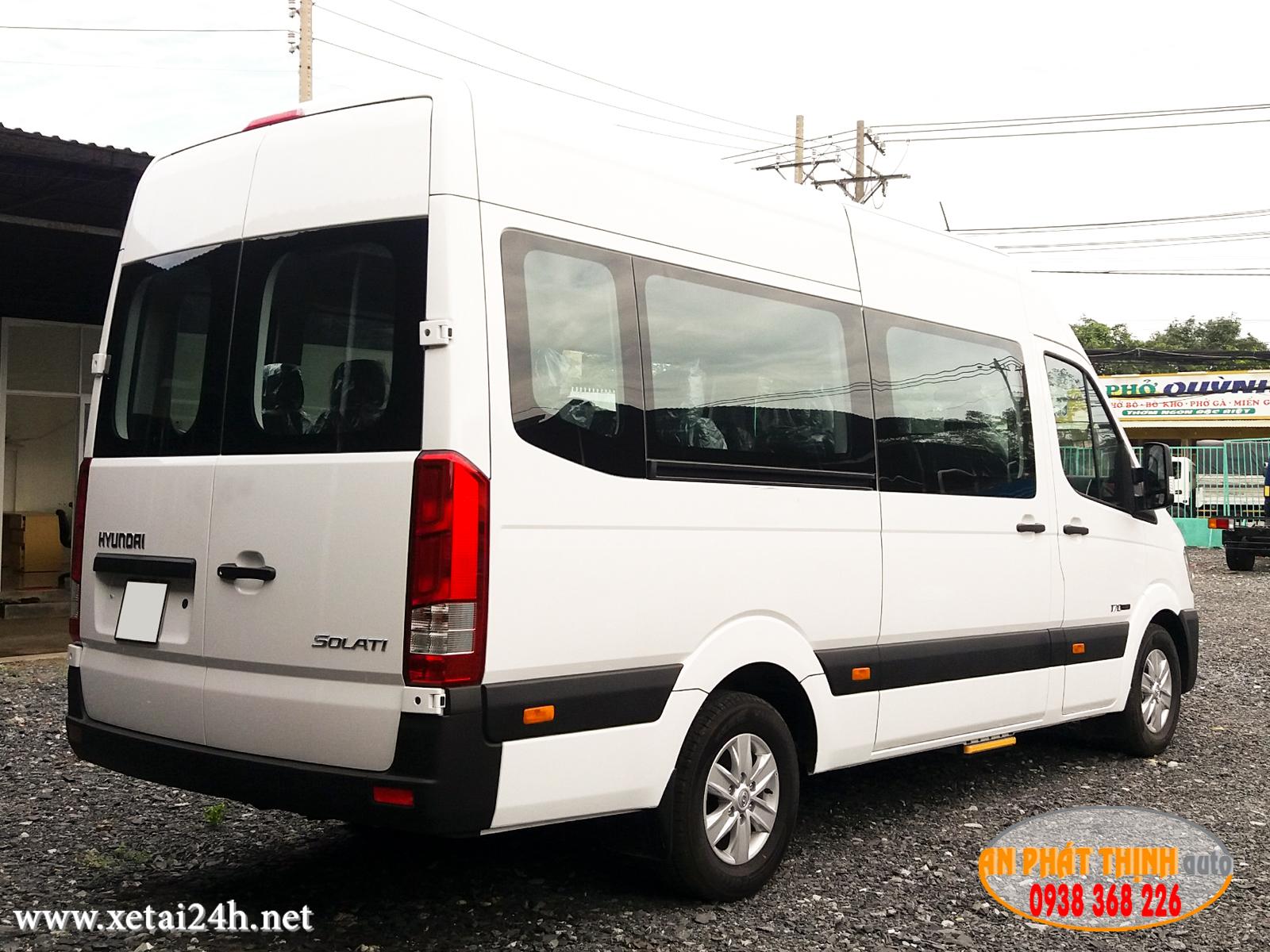 xe solati 16 cho hyundai h350