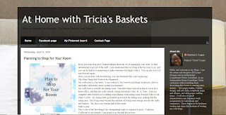 "At Home With Tricia""s Baskets"