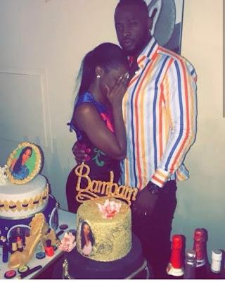 #BBNaija Teddy A Throws Bam Bam Surprise 29th Birthday Party