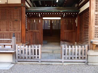 今宮戎神社 拝殿横
